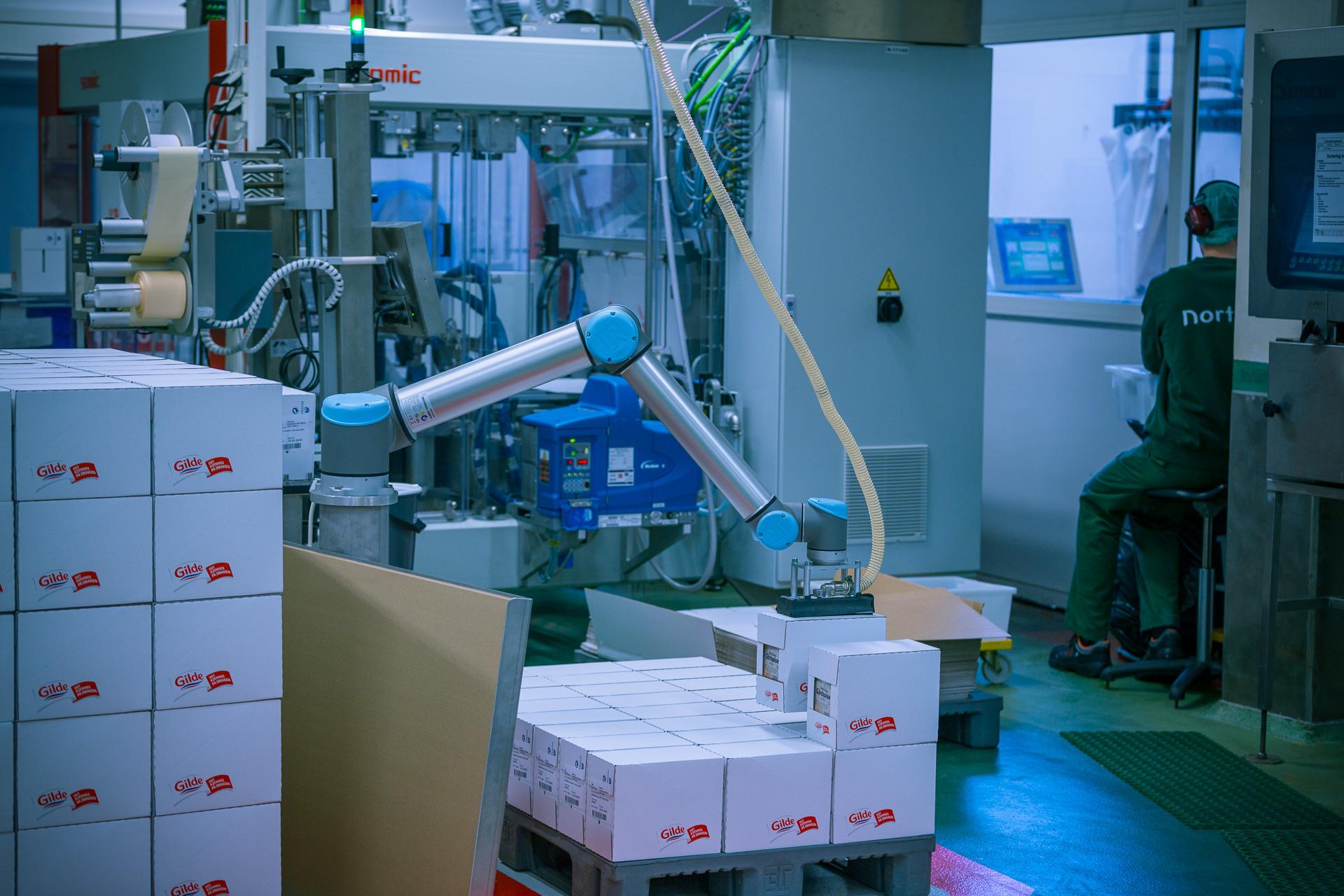 Robot na paletizáciu