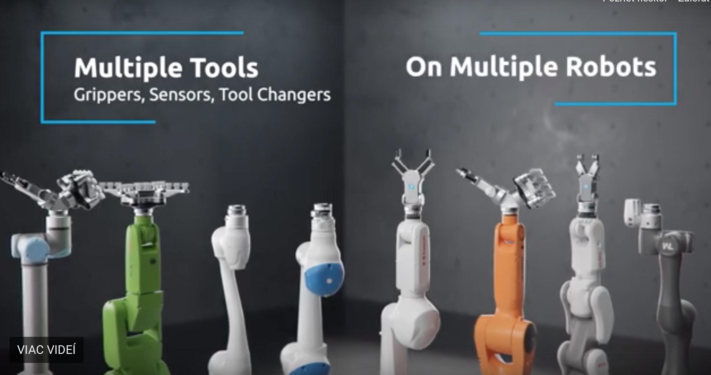 OnRobot uchopovače na roboty