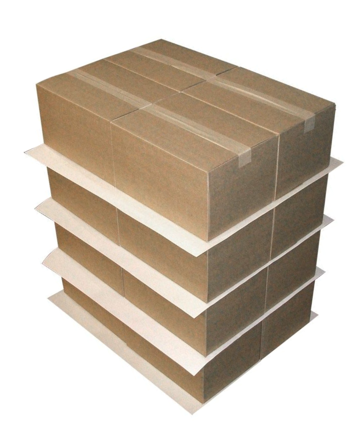 Palko - vkladanie kartónových preložiek medzi vrstvami