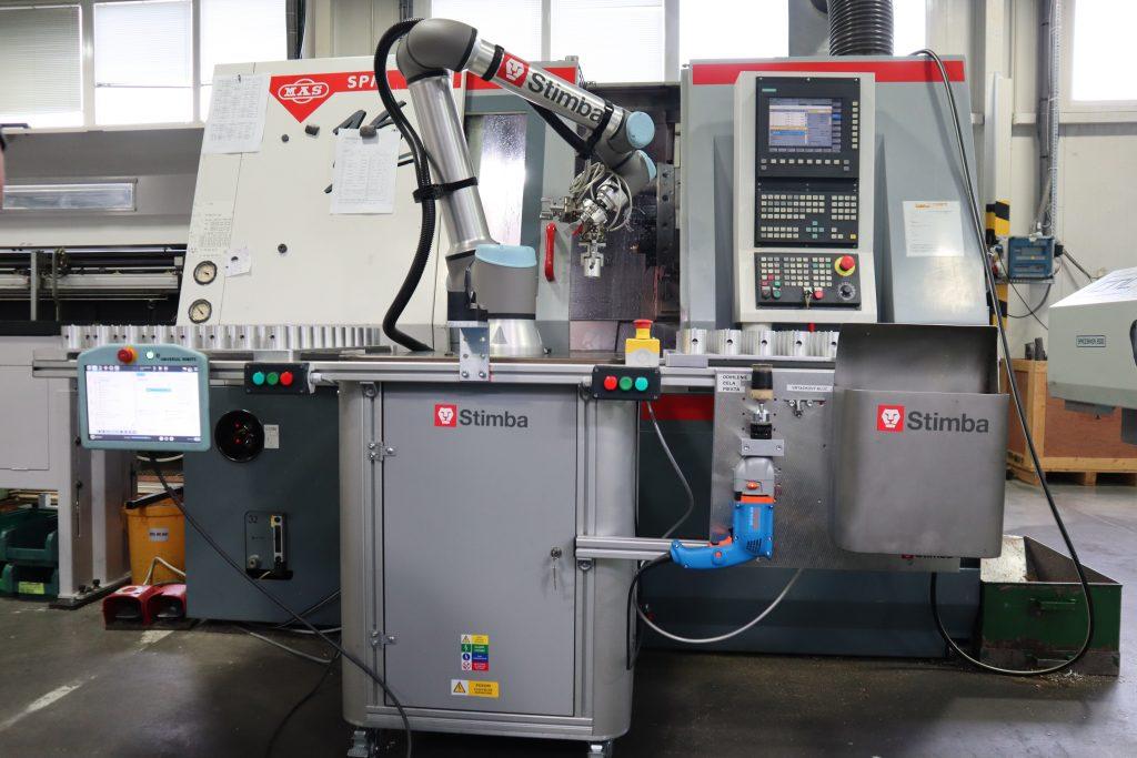 Presunuteľný kolaboratívny robot - obsluha CNC v Ekom