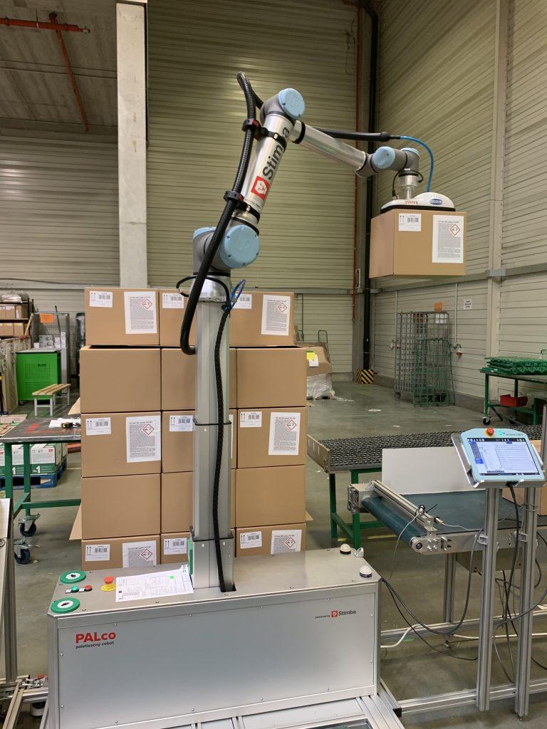 Paletizačný robot - ukladanie do 2,15m